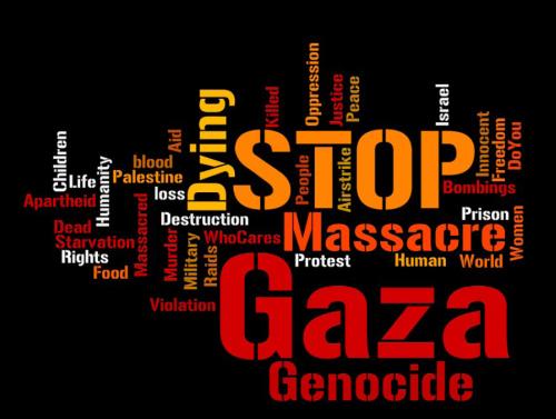 Stop Gaza Genocide - by FireflyWayFearer