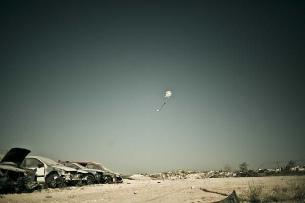 Qalandiya Refugee Camp, Occupied Palestine. Photograph © Samar Hazboun